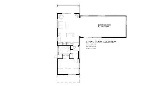 Tiny Cabin Elevation